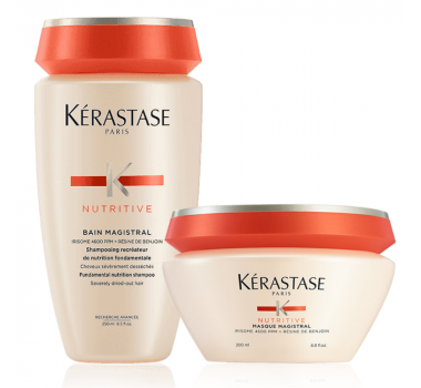 Nutritive Magistral Bain 250ml + Máscara 200ml - Kérastase (Kit Promo 2020)