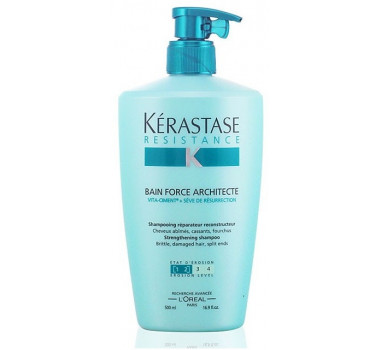 Resistance Force Architecte Bain Shampoo 500ml - Kérastase