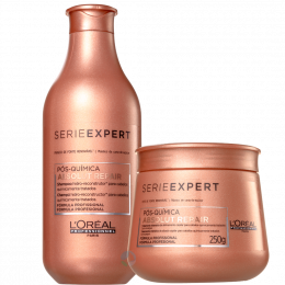 Absolut Repair Pós Química Shampoo 300ml + Máscara 250ml - Série Expert | L'oréal Professionnel