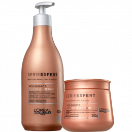 Absolut Repair Pós Química Shampoo 500ml + Máscara 250ml - Série Expert | L'oréal Professionnel
