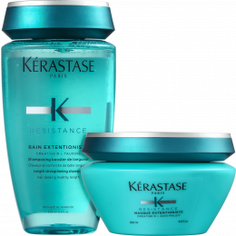Resistance Bain Extentioniste Shampoo 250ml + Máscara 200ml | Kérastase